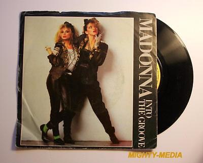 "MADONNA  - INTO THE GROOVE - 7"" Vinyl Record : EX (p307)"