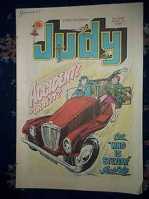 Judy Comic #1057 [12Th Apr -1980]  Focus On Lene Lovich / Dennis Waterman
