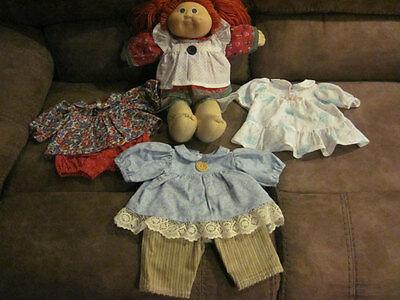 Cabbage Patch Kids Redheaded Girl with Clothes