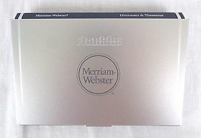 Franklin MWD-1500 Electronic Dictionary Thesaurus Translator Merriam Webster