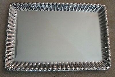 Beautiful Vintage Reed And Barton Sterling Tray