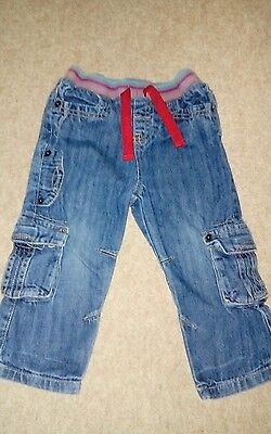 Lovely blue denim trousers baby boy 18-24 months Fab!!! John Levis