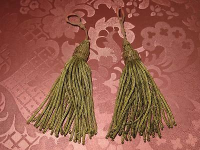 Matching Petit Pair of French Key Tassels.