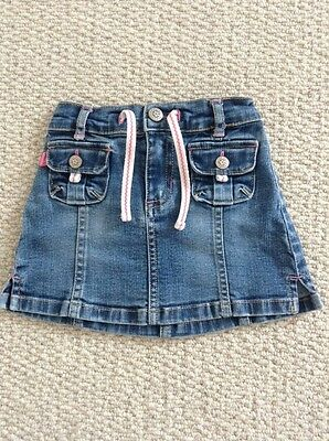 Gap Denim Skirt Girls Age 12-18 Months
