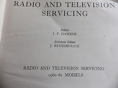 radio and television servicing 1961-62 by JP Hawker