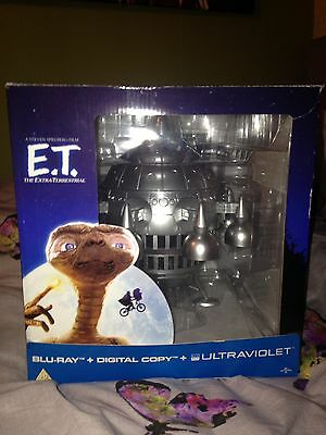 E.t 30Th Anniversary Ltd Edition Spaceship Blue Ray Uv