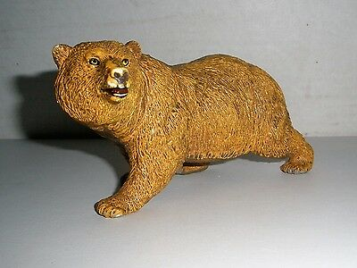 """AAA BROWN Bear Model Animal Toy Figurine (Grizzly?) 5"""""""