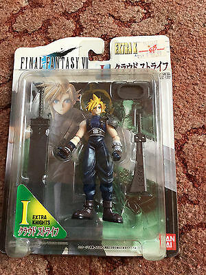 RARE Final Fantasy VII 7 Cloud Strife Extra Knights Action Figure 1997