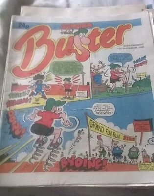The Buster Comic 13/9/1986