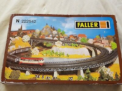 A model railway plastic kit in n gauge by faller of track supports