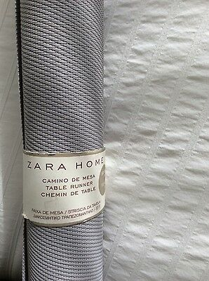 Scandinavian Pale Grey Contemporary Table Runner/ Placemats
