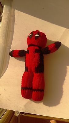 hand knitted deadpool