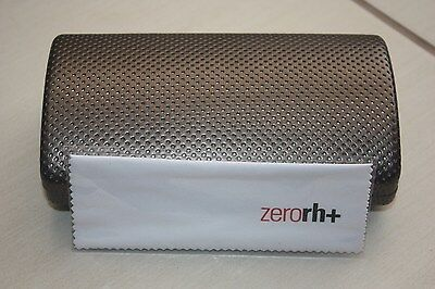 Lovely Zero RH+ large sunglasses glasses hard case,bronze red,rare new and cloth