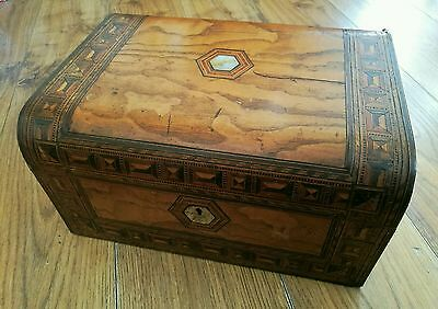 Antique Sewing Box For Restoration