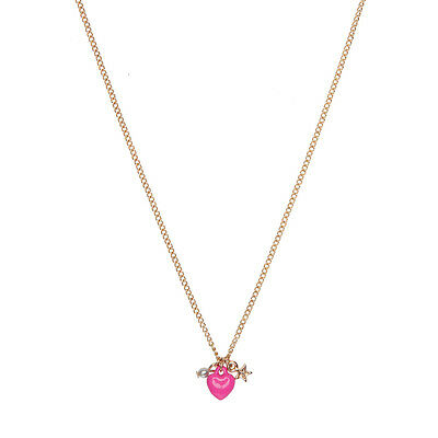 Queen of Hearts Necklace - Pink - I Love Gorgeous - BNWT