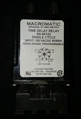 Macromatic Solid State Time Delay Relay Ss51622 Ss-66122