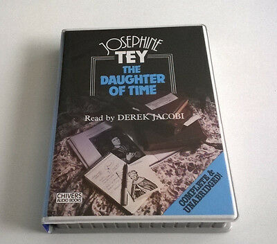 Josephine Tey The Daughter Of Time Audio Book Cassette 6 Tapes Unabridged