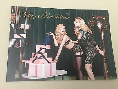 AGENT PROVOCATEUR Happy  holidays  Note/ Greeting Card Collectable/  collector