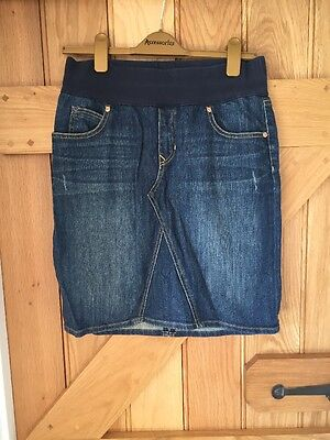 Gap Denim Maternity Skirt Size 8
