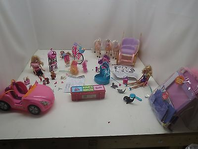 Barbie Lot With Several Sets And Accessories