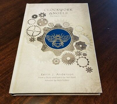 Clockwork Angels Graphic Novel Neil Peart Signed Autograph Rush SOLD OUT Limited