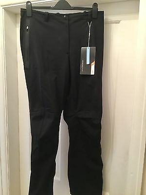 Nike Golf Black Ladies Storm Fit Waterproof Golf Trousers Bnwt Size Large