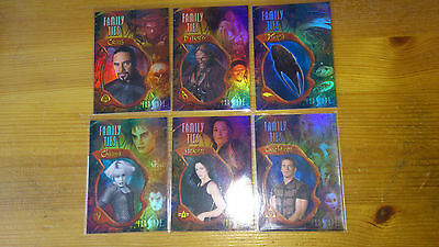 Farscape Chase Set Of Family Ties Cards F 1 To F 6