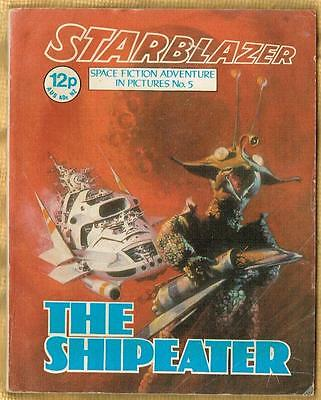 STARBLAZER ~ No. 5 ~ The Shipeater ~1970's D.C. Thompson Publication
