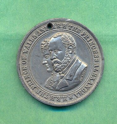 Medallion Visit Prince Of Wales To Ireland 1885