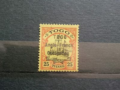 Stamps GERMANY / GERMAN TOGO COLONIES OCCUPATION  SIGNED
