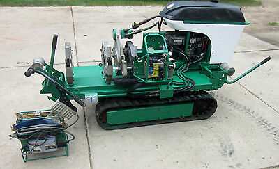 "Mcelroy No. 28 Tracstar Tracked 2-8"" Pipe Fusion Machine HDPE Plastic Welding"