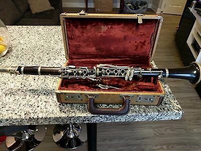 Wooden Whitehall Clarinet with Case