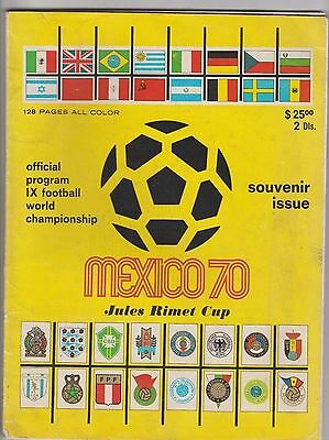 Official and Original Complete PRG   World Cup MEXICO 1970  !!  EXTREM RARITY