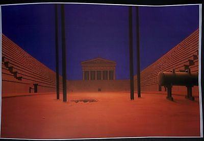 Hercules (Movie) Animation Reference Library Color Production Background #SH1