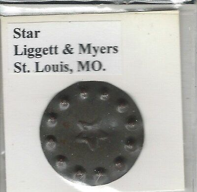 Tobacco Tag Liggett & Myers Co. St. Louis, MO. Stat