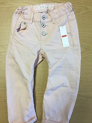 Lindex Baby Girl Pale Pink Trousers 92cm 1 1/2 - 2 Years Bnwt
