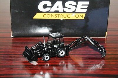 CASE Construction Vehicles 1:87 Scale 590 Super R Mixed Pala Diecast Models Toys