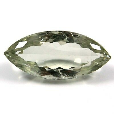 19.20 ct Natural Green Amethyst Marquise Fine Faceted AAA Quality Loose Gemstone