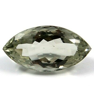 17.05 ct Natural Green Amethyst Marquise Fine Faceted AAA Quality Loose Gemstone