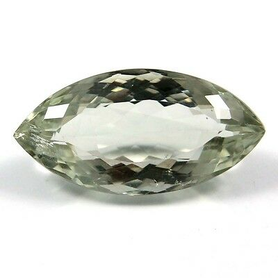 17.25 ct Natural Green Amethyst Marquise Fine Faceted AAA Quality Loose Gemstone