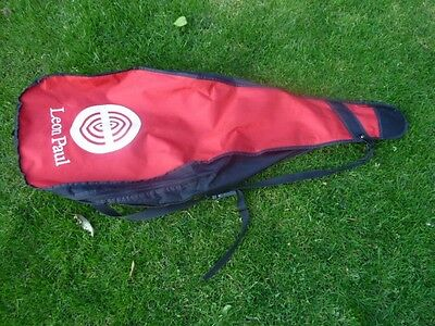 Fencing Bag Leon Paul red good condition