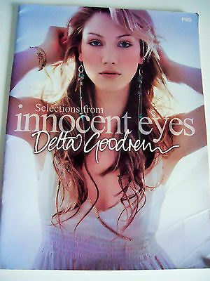 Delta Goodrem..selections From Innocent Eyes..6 Songs With Music/lyrics..orig