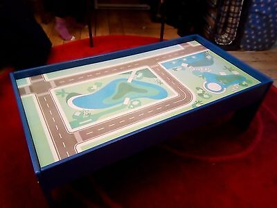 Children's play table for brio trains, cars, Lego, playmobil and kids toys