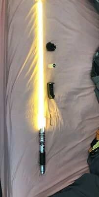 Saberforge Lightsaber - Disciple Lightsaber Warrior Barely Used Ships 2Day!