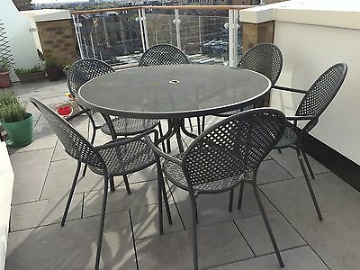 Large Outdoor Table And 6 Chairs