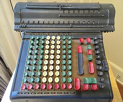 Vintage Marchant~ Adding Machine/calculator~No Cord Untested~Usa~ As Is