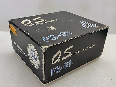 Bnib Rare Os Fs 61 Four Stroke Model Aeroplane Glow Engine. Sc, Saito , Surpass?