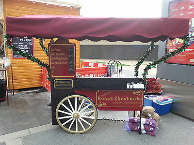IT WON'T GET ANY CHEAPER LAST REDUCTION!  - Roast Chestnut Cart / Catering Cart