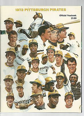 Original   1973  Pittsburgh Pirate  Yearbook    Excellent condition