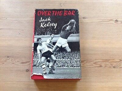 OVER THE BAR Hardback with Dust Cover By Jack Kelsey